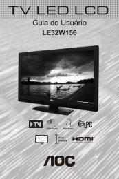 LE32W156 - Submarino.com.br