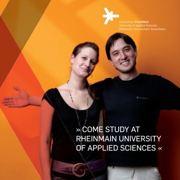come study at rheinmain university of applied sciences - Study Abroad