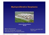 Myeloproliferative Neoplasms - onkologie-klinik