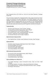 Protokoll Preisgerichtssitzung - Competitionline