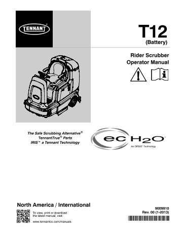 T12 Operator Manual (NA) - Factory Cleaning Equipment