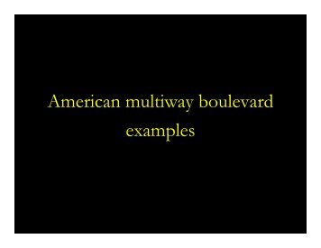 American multiway boulevard examples.pdf - City of Springfield