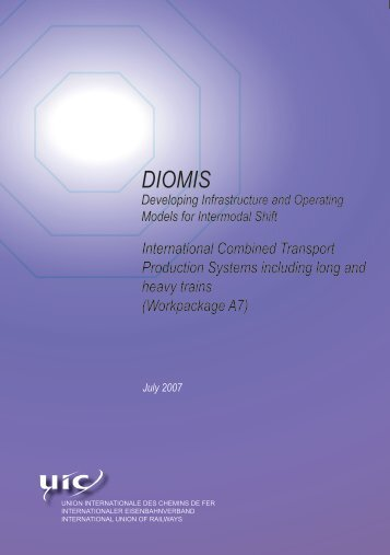 International Combined Transport Production Systems ... - UIC