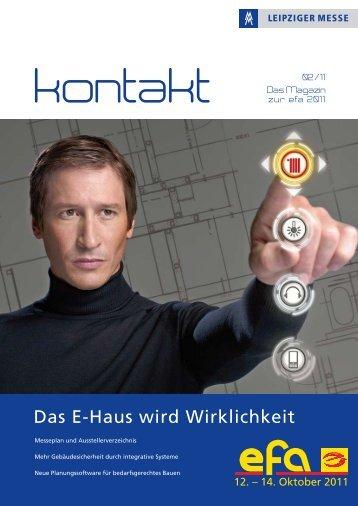 Das Magazin zur efa 2011 02/11