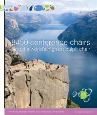 8450 conference chairs - Region Stavanger