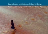 Humanitarian Implications of Climate Change Mapping emerging