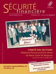 DÉCEMBRE 2003 / JANVIER 2004 Vol. 28, no 6 - Chambre de la ...