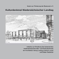 Kulturdenkmal Niedersächsischer Landtag - architekten24.de