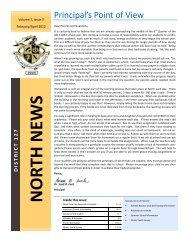 Parent Newsletter Jan-March 2012 - Grayslake North High School