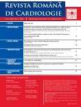 Nr. 1, 2007 - Romanian Journal of Cardiology - Page 3
