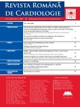 Nr. 1, 2007 - Romanian Journal of Cardiology - Page 4