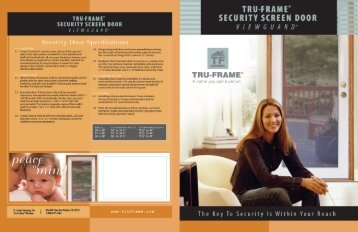 Brochure - Tru Frame