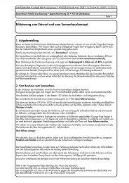 Erläuterungen zum Entwurf - Gemeinhardt AG
