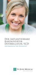 SJM. Vorhoffl.-Broschüre (Page 1) - St. Jude Medical