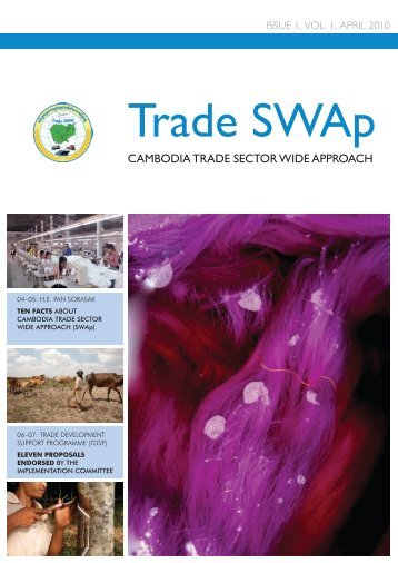CAmbodiA TrAde SeCTor Wide ApproACh - United Nations in ...