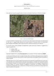 Il progetto di realizzazione del Parco Eolico a Tessennano