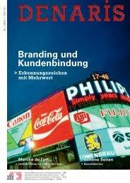 Denaris 01/13 Branding und Kundenbindung - VSV