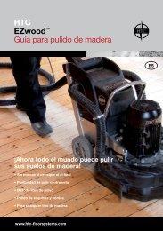 HTC EZwood™ Guía para pulido de madera - Anzeve