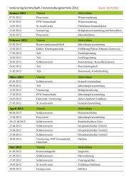 Vereinsring Sommerkahl Termine 2012 - Rallye Team Sommerkahl eV