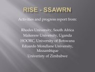 RISE - SSAWRN