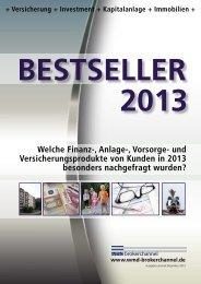 Bestseller 2013 - WMD Brokerchannel