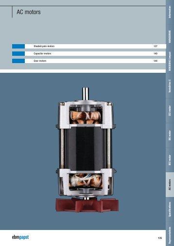 AC motors - ebm-papst