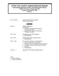 Agenda 02/26/2008 - Otter Tail County