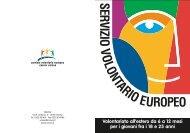 Volontariato all'estero da 6 a 12 mesi per i giovani fra i 18 ... - Cesvov