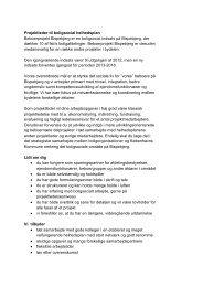 Projektleder til boligsocial helhedsplan Beboerprojekt Bispebjerg er ...