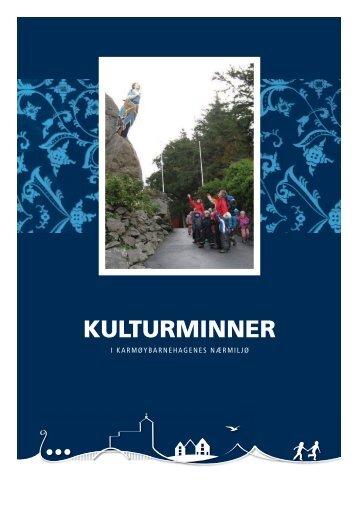 Kulturminner i Karmøybarnehagene - Karmøy kommune