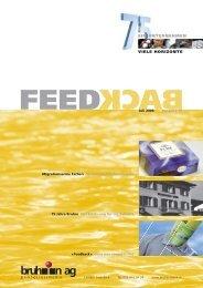 Feedback - Bruhin AG