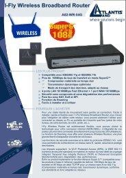 I-Fly Wireless Broadband Router A02-WR-54G - Atlantis Land