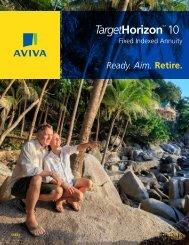 Aviva target 10 brochure - PFG Marketing Group, Inc.
