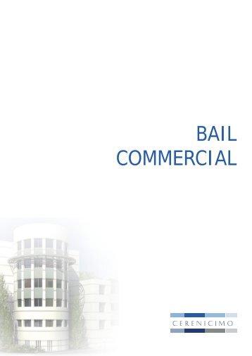 bAIL COmmERCIAL - EGI Patrimoine