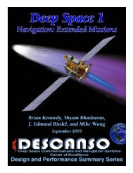 Article 7 Deep Space 1 Navigation: Extended Missions