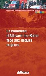 Document d'Information Communal sur les Risques ... - ville d'Allevard