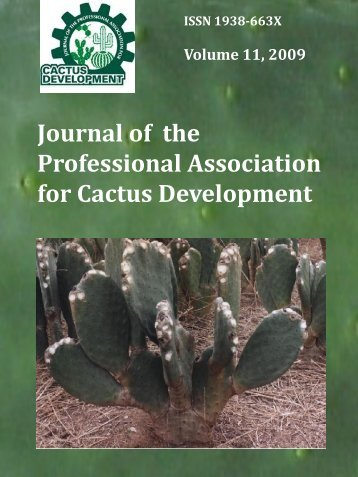 Diapositiva 1 - Journal of the Professional Association for Cactus ...