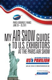 AT THE PARIS AIR SHOW - Kallman Worldwide Inc.