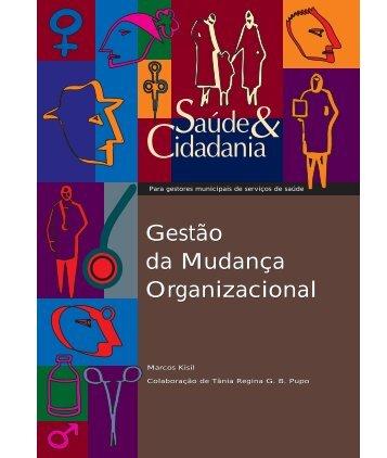 Gestão da Mudança Organizacional - Secretaria de Estado de ...