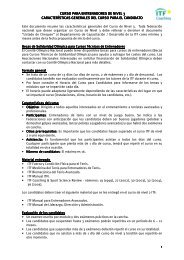 curso para entrenadores de nivel 3 curso para entrenadores de ... - ITF