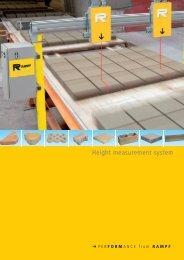 Height measurement system - Rampf Formen GmbH