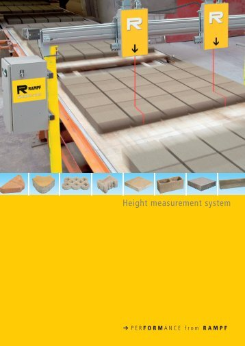 Height measurement system - Rampf Formen GmbH