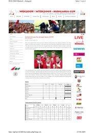 Seite 1 von 4 WOC2009 Miskolc - Hungary 25.08.2009 http ...