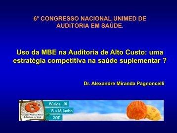 médicos - Unimed do Brasil