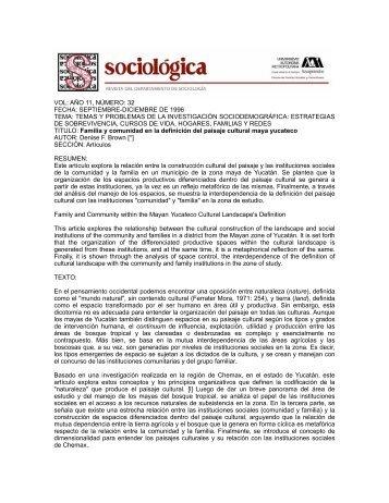 temas y problemas de la investigación sociodemográfica