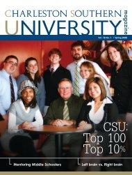 Spring 2008 - Charleston Southern University