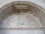 Annual Report 2003-2004 - UCLA Graduate Division