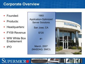Corporate Overview - Flagg Management Inc