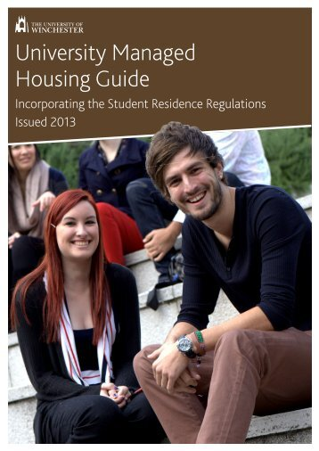 UMH Guide and/ Student Residence Regulations for 2013-2014