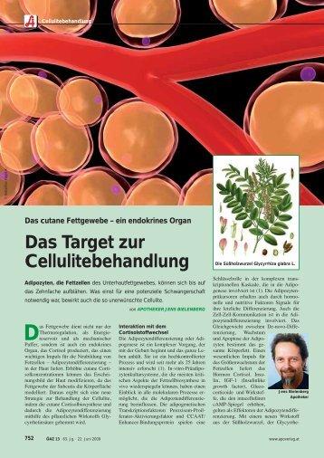 Das Target zur Cellulitebehandlung - Raphael-Apotheke
